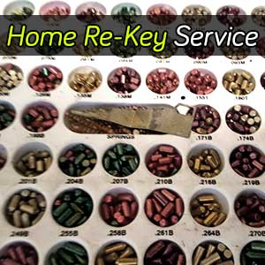 Home Lock Re-Key Services