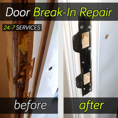 Door Break-In Repair Project