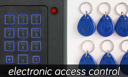 Electronic Access Control Locks Installation