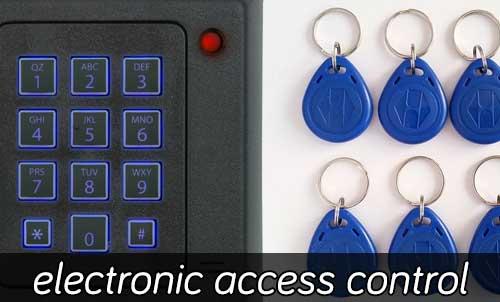 Electronic Access Control Locks Installation