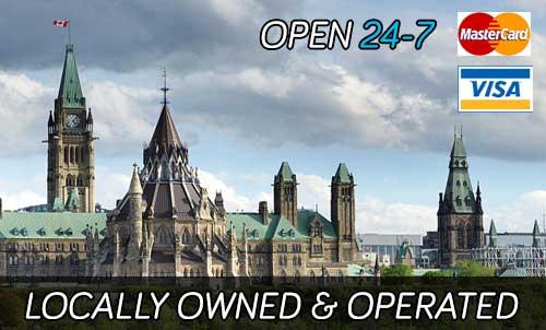 downdown Ottawa