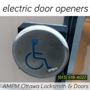 Electric door opener