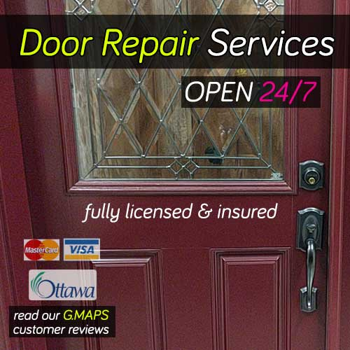 Our door repair services page