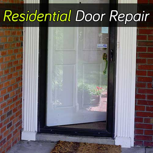 Residential Door Repair Services In Ottawa, Ontario