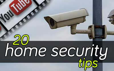 20 Home Security tips