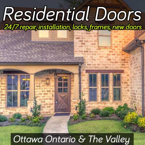 Residential Door Repair Services