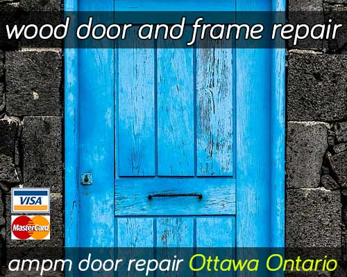 Wood Door Repair Services