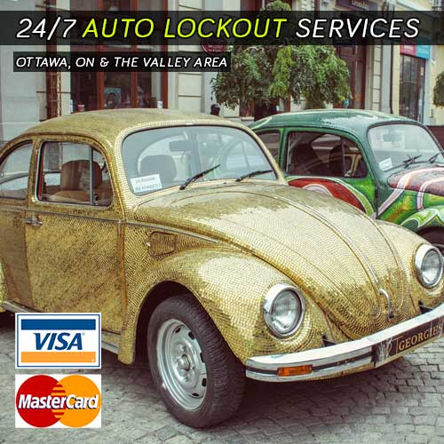 24Hr Auto Lockout Services In Ottawa ON
