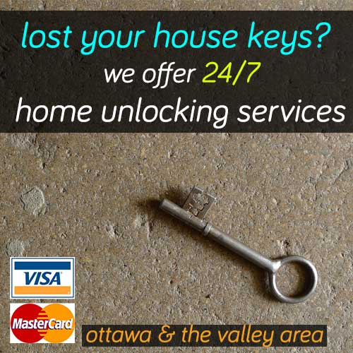 Home Lockout Services In Ottawa ON