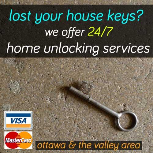 house lockout ottawa ontario home door unlocking